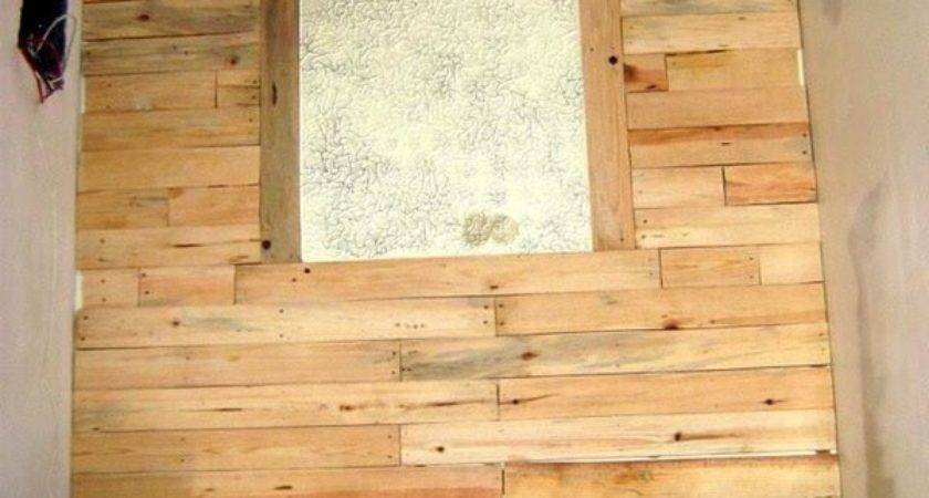 Diy Accent Wall Using Wooden Pallets Designs