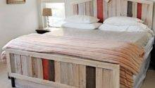 Diy Beds Made Out Pallets Wooden Pallet Furniture