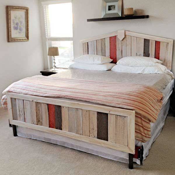 17 Spectacular Bed Made Of Pallets