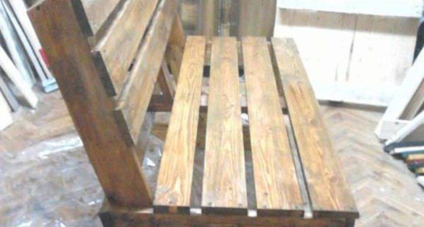 Diy Bench Pallets Pinterest Pallet Chair