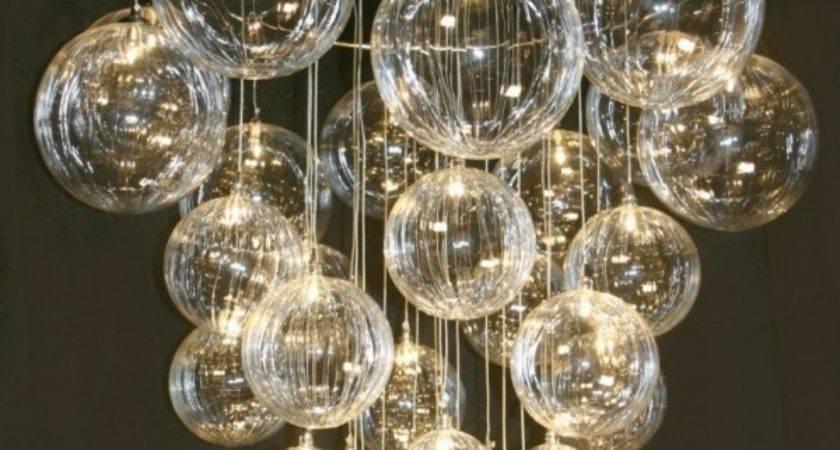 Diy Bubble Chandelier Chandeliers Light