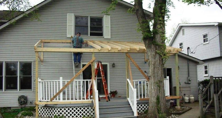 Diy Building Roof Over Deck Bestonline Info