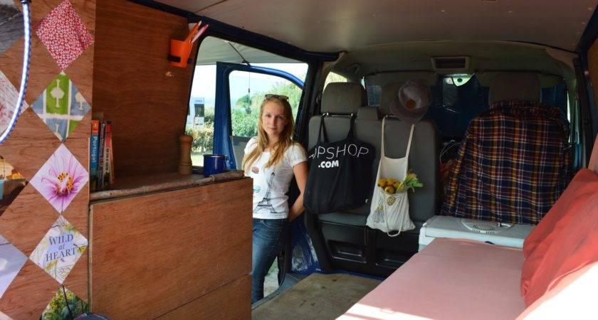 Diy Campervan Inside Far Emily May