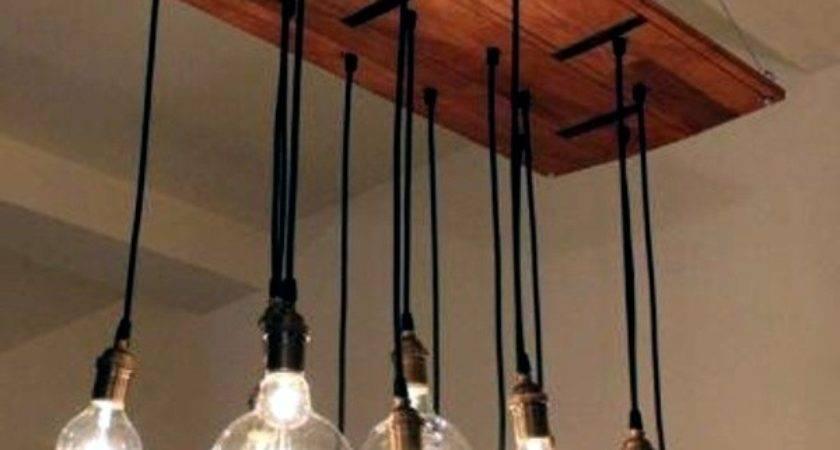 Diy Chandelier Euro Pallets Brighten Your Home