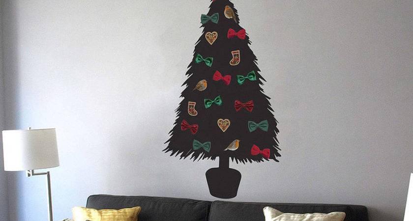 Diy Christmas Tree Wall Sticker Contemporary Stickers