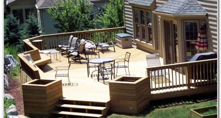 Diy Deck Design Ideas Decks Home Decorating