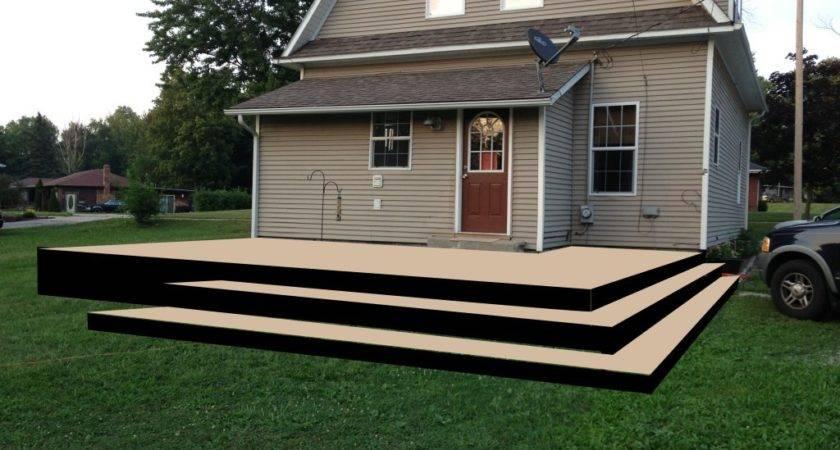 Diy Deck Design Sample Platform Railing Handy Father