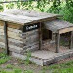 Diy Dog House Plans Made Pallets Designs