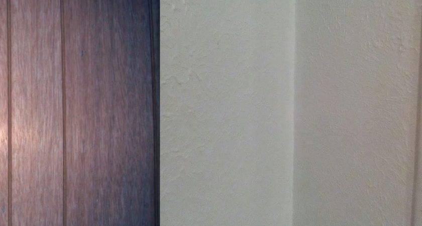 Diy Drywall Wood Panelling Painting Walls