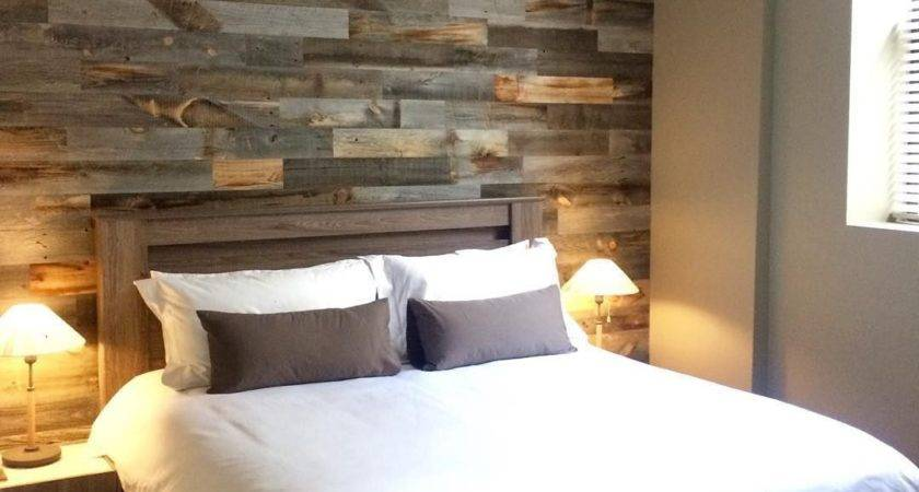 Diy Easy Peel Stick Wood Wall Decor Pallets Square