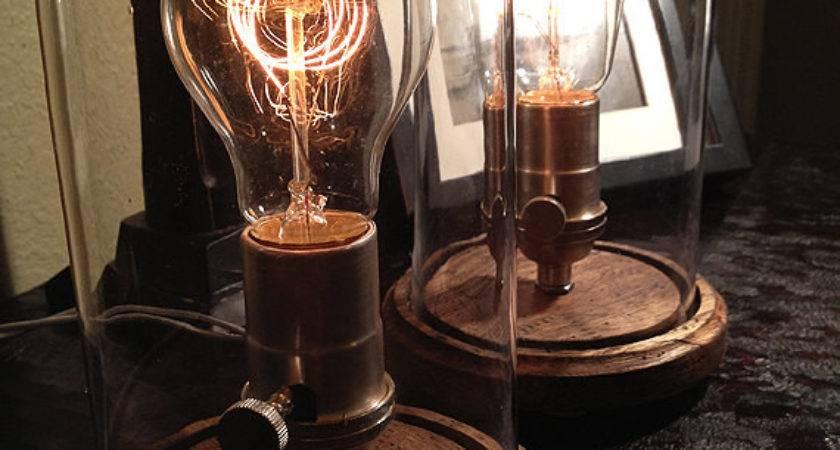 Diy Edison Table Lamp Imgkid Has