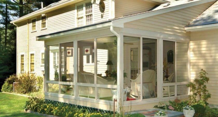 Diy Enclosed Porch Innovative Karenefoley