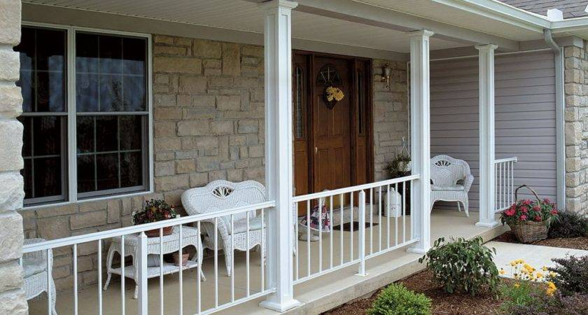 Diy Front Porch Kits Colour Story Design Awesome