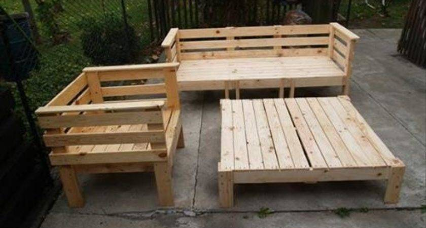 Diy Furniture Pallets Wood Designs