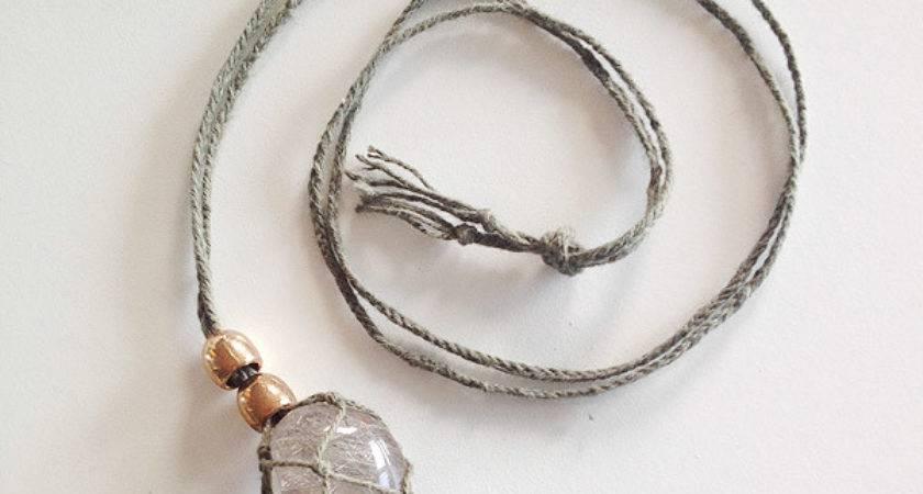Diy Gemstone Necklace Sustainability Style