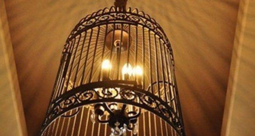 Diy Gorgeous Birdcage Chandelier Large