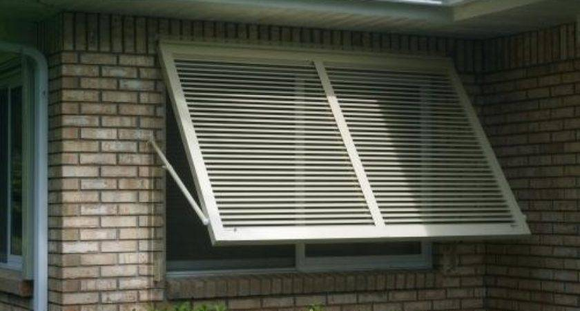 Diy Hurricane Shutters Awning Roll Down