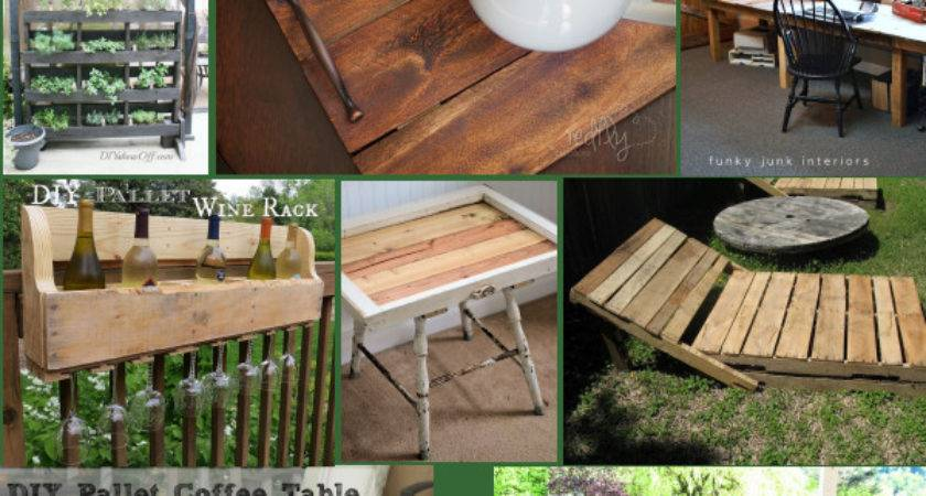 Diy Ideas Pallets Rustic Crafts Chic Decor