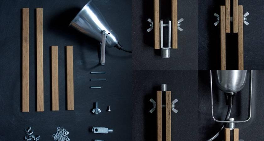 Diy Industrial Desk Lamps Nimidesign Via Cox Homeli