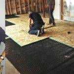 Diy Install Basement Subfloor Youtube