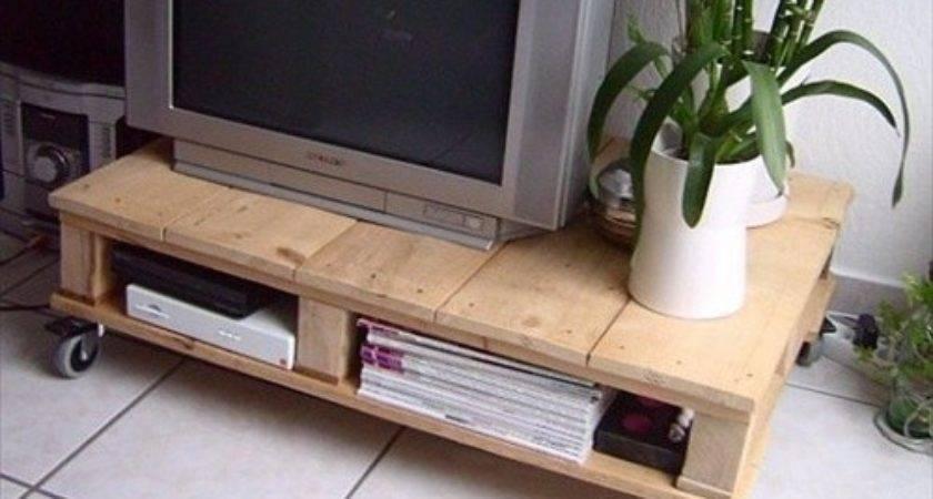 Diy Interior Furniture Pallet Stand Styles