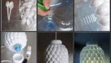Diy Light Fixtures Ideas Recycled Materials