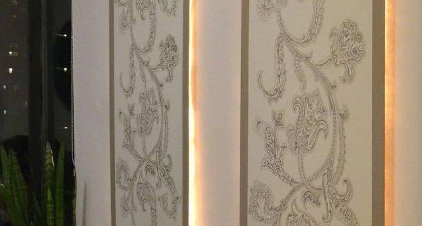 Diy Lighted Wall Panel Hometalk