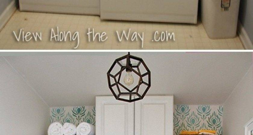 Diy Makeover Great Small Laundry Room Space