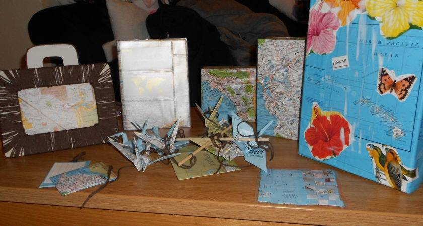 Diy Map Decor Your Home Aka Have