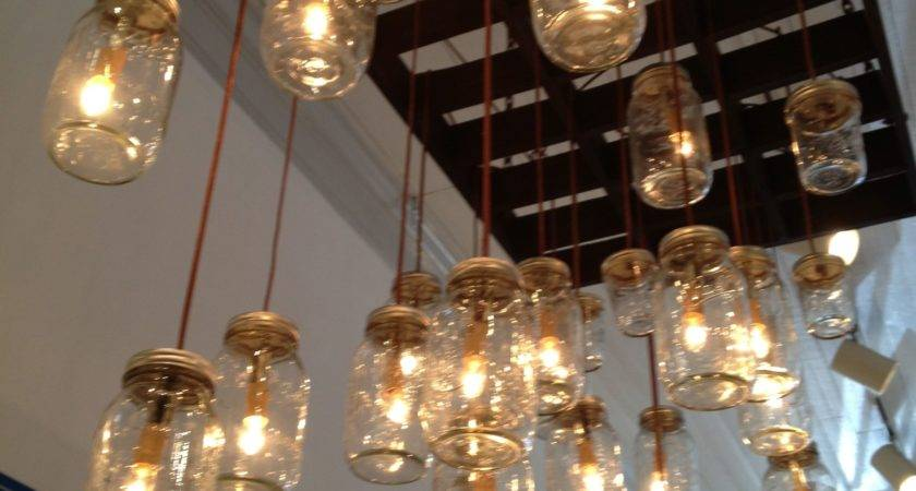 Diy Mason Jar Light Fixture Ideas All House Design