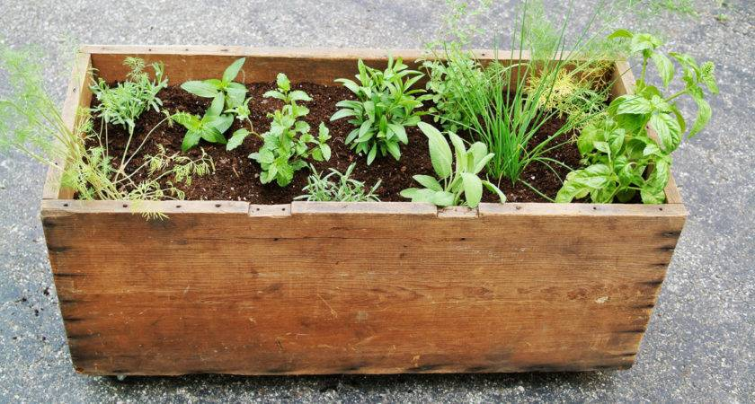 Diy Mobile Garden Box Planter Farm Fresh Therapy