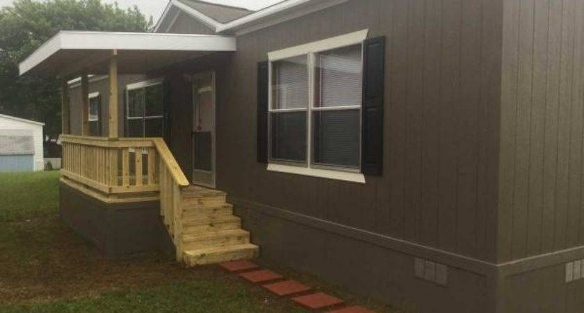 Diy Mobile Home Covered Porch Your Self
