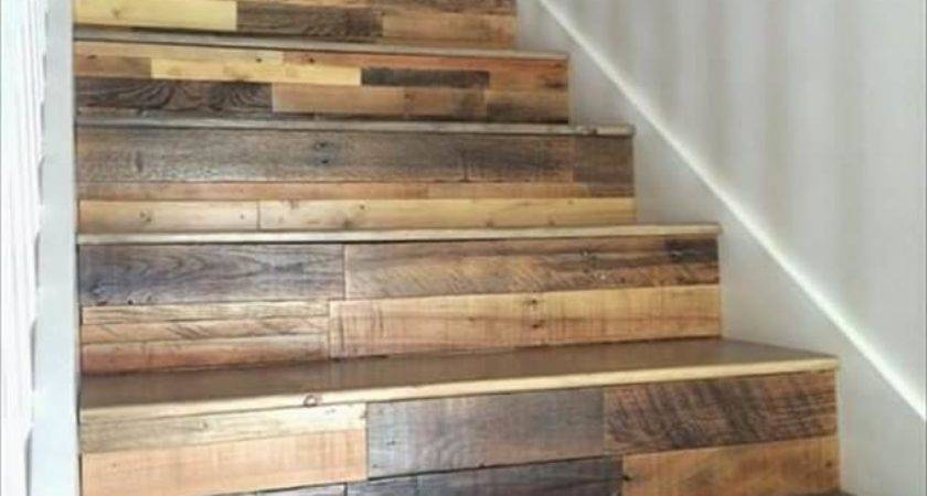 Diy Old Pallet Stairs Ideas Make