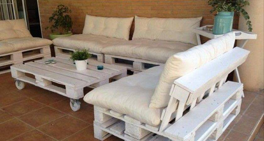 Diy Outdoor Furniture Made Pallet