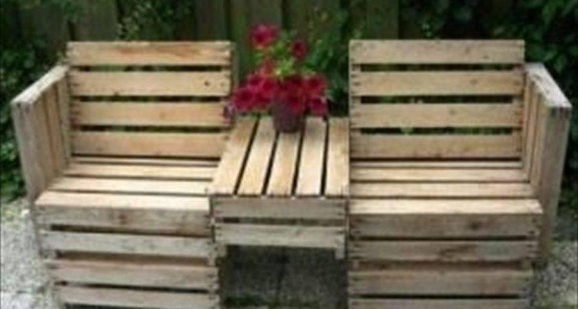 Diy Outdoor Pallet Furniture Plans Pdf