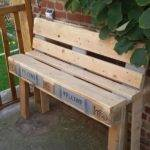 Diy Outdoor Shipping Pallet Bench Pallets Designs