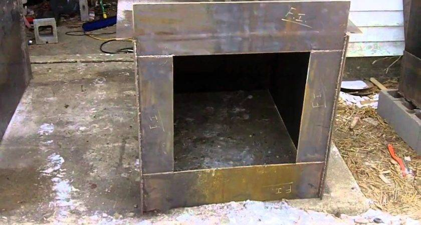 Diy Outdoor Wood Burner Boiler Hydronic Burning