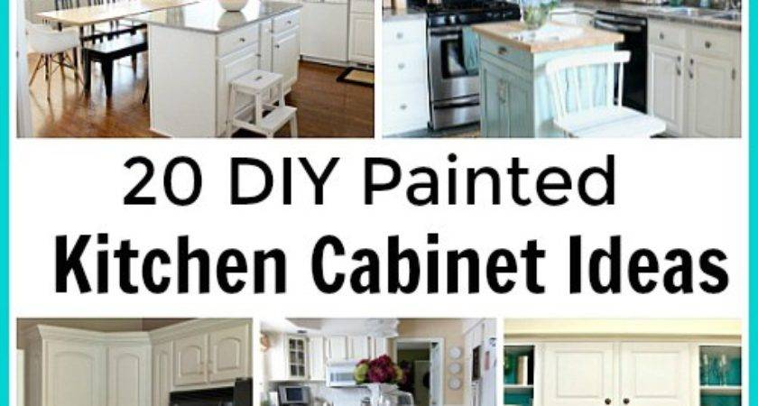 Diy Painted Kichen Cabinet Ideas