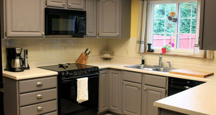 Diy Painted Kitchen Cabinets Ideas All House Design