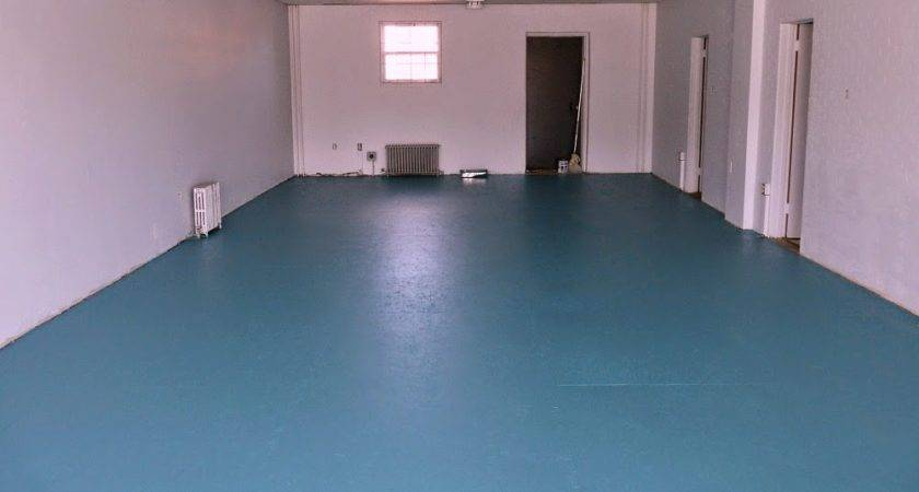 Diy Painted Particle Board Floor Mmmm Teal Dans