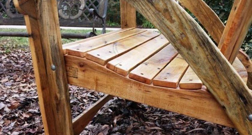 Diy Pallet Adirondack Chair Table Furniture