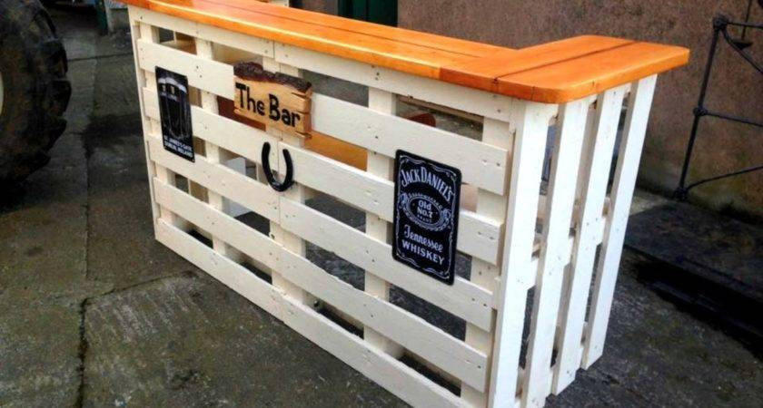 Diy Pallet Bar Ideas Creative Cheap Recycled