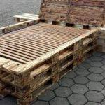 Diy Pallet Bed Frame Nightstands Furniture