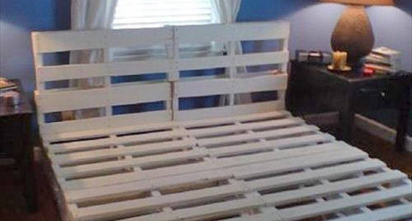 Diy Pallet Bed Frames Your Room Pallets Designs