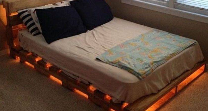 Diy Pallet Bed Ideas Plans Pallets Designs