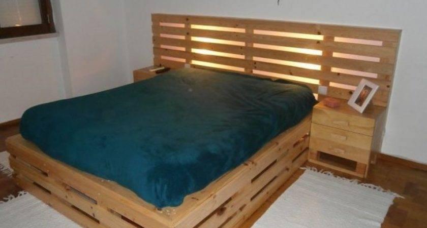 Diy Pallet Bed Instructions Pixshark