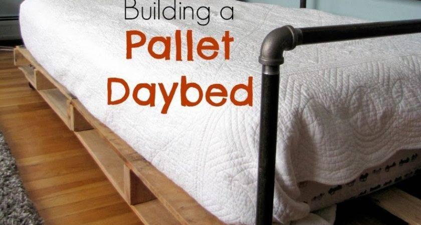 Diy Pallet Bed Instructions Terrace Using Palletsdiy