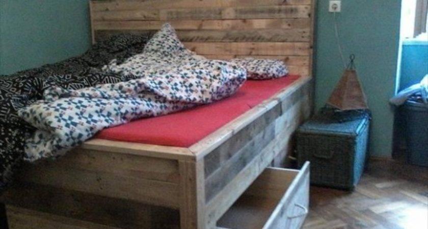 Diy Pallet Bed Instructions Tutorial Built