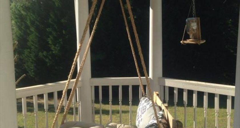 Diy Pallet Bed Porch Swing Furniture Plans