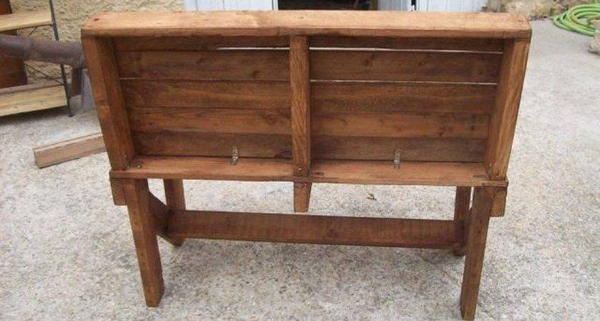 Diy Pallet Bench Instructions Furniture Plans